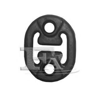 753928 Подвес глушителя (резина) NISSAN: MICRA II 92-03, MICRA III 03-10