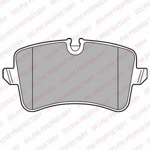 LP2446 Колодки тормозные AUDI A6/A7 10- задние