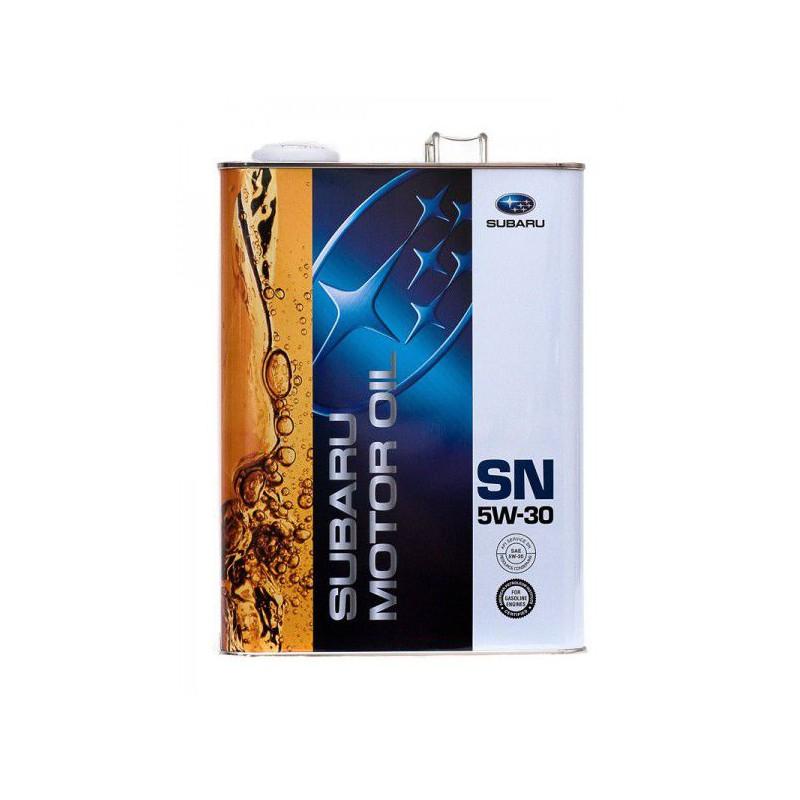 K0215Y0273 Масло моторное 5W30 SUBARU 4л синтетика SN (Япония)