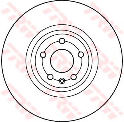 DF6041S Диск тормозной AUDI TT (1LK) 06- передний вент.D=340мм.