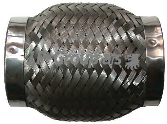 9924200500 Гибкая трубка приемной трубы универсальная 100x51 mm / VAG,OPEL