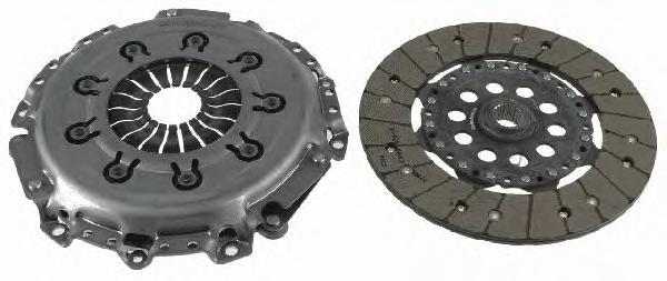 3000951927 Сцепление к-т FORD FOCUS II/GLAXY II/S-MAX/VOLVO 1.8-2.0 04-