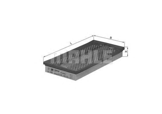 LX348 Фильтр воздушный MB W140/W210/W124 4.2-5.0 -97