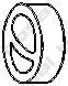 """255766 Подвеска глушителя BMW """"3"""" (E30) / """"5"""" (E34) 1.6-3.0 85-00"""