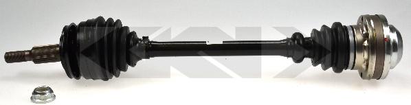 304499 Привод в сборе VW TRANSPORTER V 1.9D-2.0 03- лев.