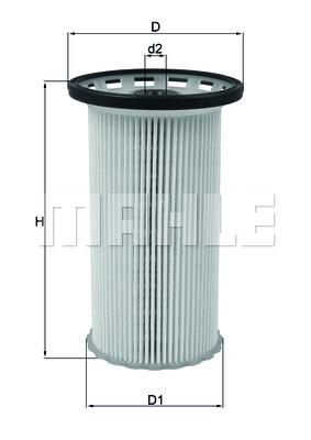 KX386 Фильтр топливный AUDI: A3 1.6TDI/2.0TDI 12-  SEAT: LEON 12-  SKODA: OCTAVIA 12- VW: GPLF Vll 12-