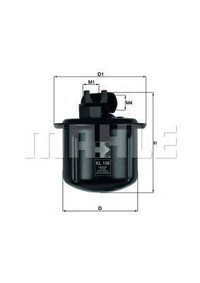 KL108 Фильтp топливный