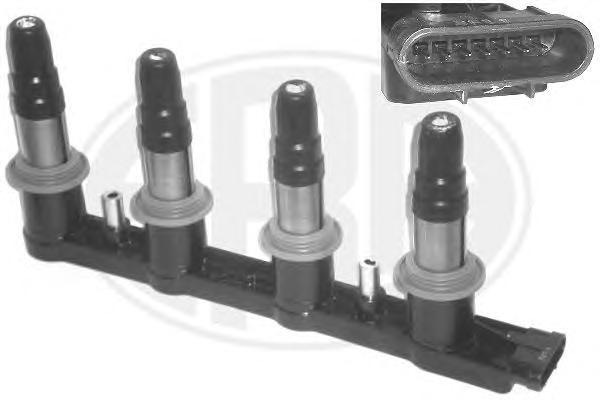 880337 Катушка зажигания CHEVROLET CRUZE/ORLANDO 1.4/1.6/1.8 DOHC 72 kw