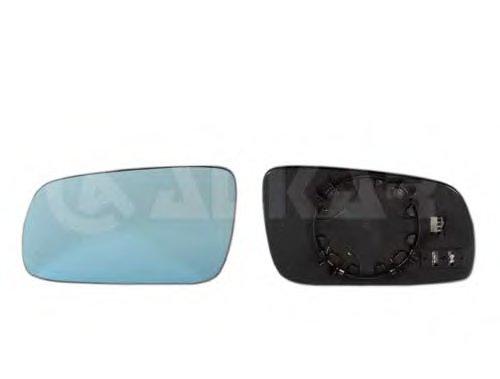 PMG0204G05 Стекло зеркала лев с подогр, асферич, тониров AUDI: A3 (8L)(1996-00) ,A4 (8D) (1995-00) ,A6 (4A/C4)(1994-97), A8(1994