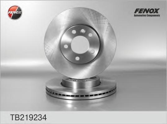 TB219234 Диск тормозной VW MULTIVAN/T5 03-/TOUAREG 02-10 передний D=308мм