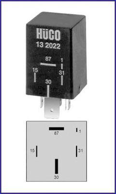 132022 Реле топливного насоса AUDI: 100 (43, C2) 1.6/2.0/2.0 D/2.1 76-82, 100 (44, 44Q, C3) 1.8/1.8 QUATTRO/2.0/2.0 D/2.0 D TURB