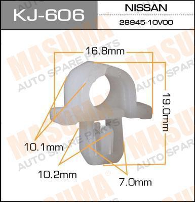 KJ606 Клипса NISSAN