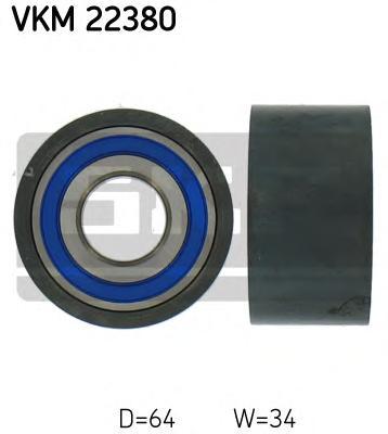 VKM22380 Ролик натяжной ремня ГРМ Citroen. Fiat. Peugeot 2.5D/TD-2.8D/TD 89