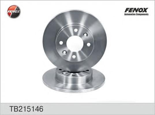 TB215146 Диск тормозной RENAULT LOGAN/CLIO/MEGANE/SANDERO передний не вент.D=238мм.