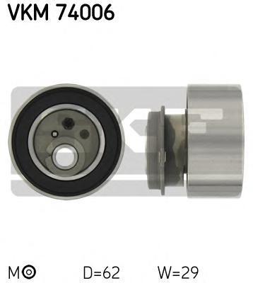 vkm74006 Ролик натяжителя ремня ГРМ MAZDA 323 F 1.9 16V  09/1998-