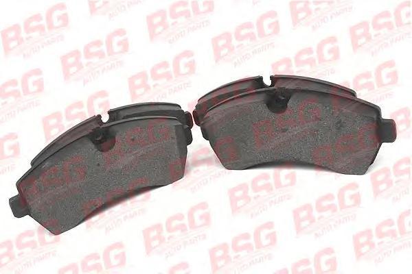 BSG60200010 Колодки тормозные дисковые передние / VW Crafter 30-50; M.B Sprinter 2.5TDI 04/06~