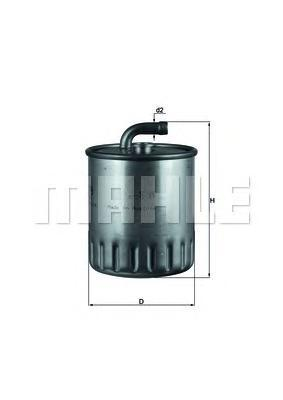 KL179 Фильтp топливный