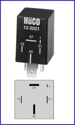 132021 Реле топливного насоса AUDI: 100 (44, 44Q, C3) 1.8/1.8 QUATTRO/2.0/2.1 82-91, 100 AVANT (44, 44Q, C3) 1.8/2.0 E/2.1 82-90