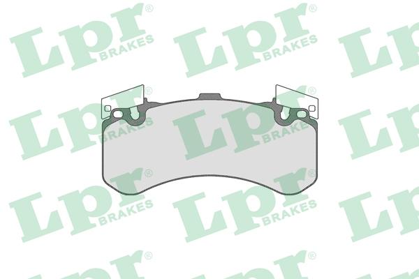 05P1806 Колодки тормозные AUDI A8 (1LN) 09- передние