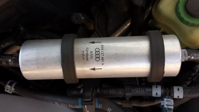8T0127401A Фильтр топливный, дизель / AUDI 2.0/3.0 TDI 08~