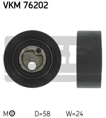 VKM76202 Ролик натяжной ремня ГРМ Suzuki Swift 1.0-1.3 <96. Vitara 1.6 88