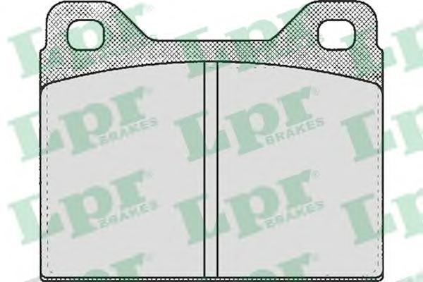 05p144 Комплект тормозных колодок, дисковый тормоз