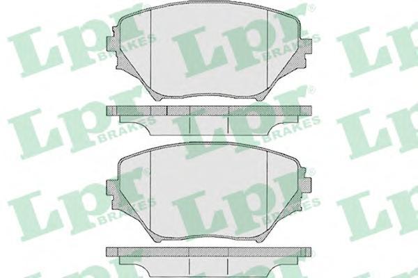 05P958 Колодки тормозные TOYOTA RAV4 II 00-06 передние