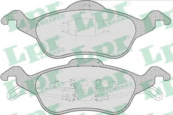 05P696 Колодки тормозные FORD FOCUS 9805 передние