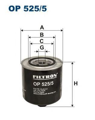 OP5255 Фильтр масляный AUDI 100/A6 2.0D-2.5D/VW T4 1.9D