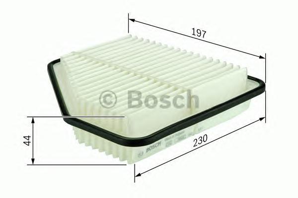 F026400098 Фильтр воздушный HONDA CIVIC 1.4/1.8 06-