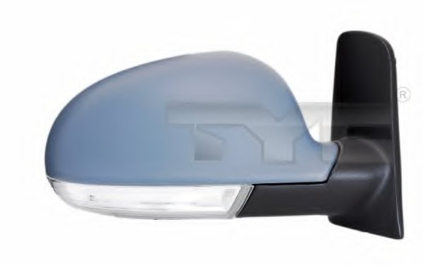 PMG4039M02 Зеркало наружное в сборе прав, электр, с подогр, выпукл, грунт,с указат повор VW: SHARAN - 06-10