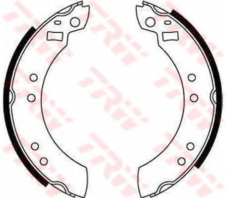 gs6124 Комплект тормозных колодок