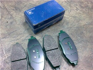 96316582 Колодки тормозные DAEWOO NEXIA/LANOS/MATIZ SOHC передние