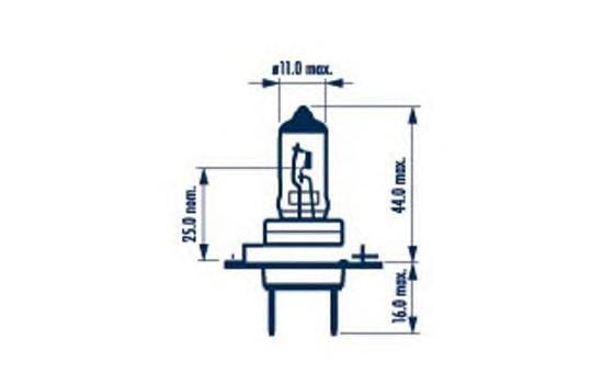 48358 Лампа 12V 80W PX26d