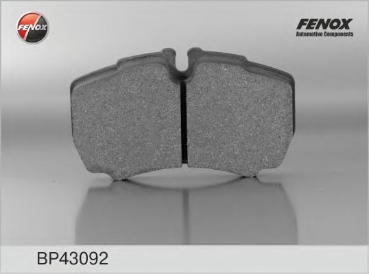 BP43092 Колодки тормозные FORD TRANSIT 06-/IVECO DAILY 01- задние