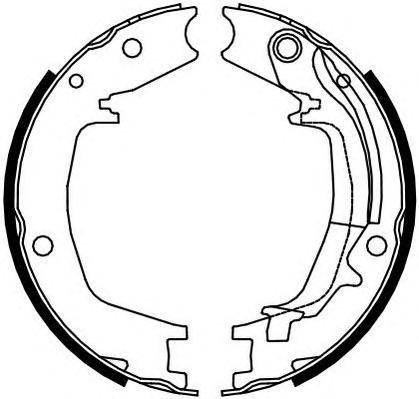 FSB4131 Колодки ст.тормоза HYUNDAI SANTA FE 01-06/TUCSON 04-/KIA SPORTAGE 04- d=190мм.