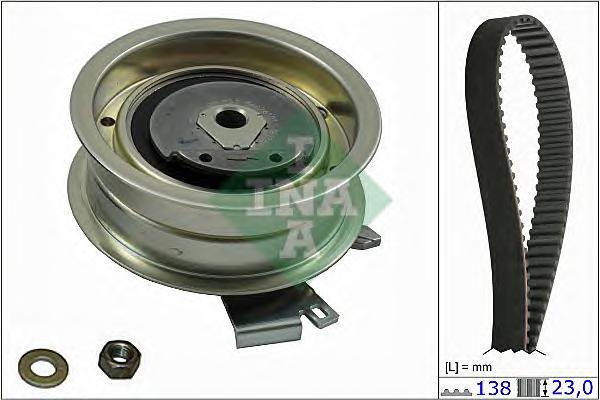 530017110 Комплект ремня ГРМ AUDI A3/AUDI A4/G4/VW PASSAT 1.6/2.0 95-