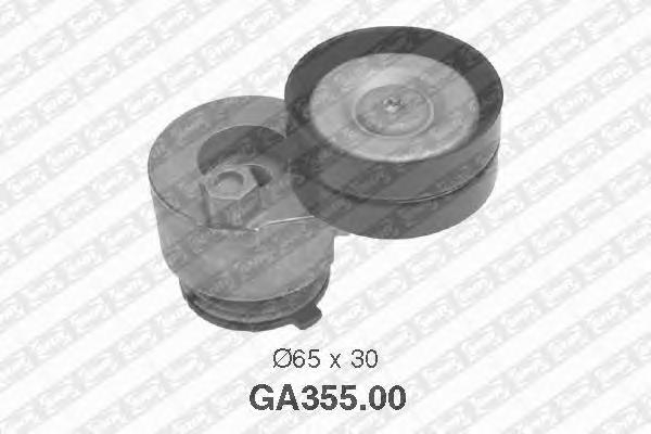 GA35500 Натяжитель ремня приводного MITSUBISHI/NISSAN/OPEL/RENAULT/VOLVO