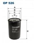 OP526 Фильтр масляный AUDI 80/100/VW G2/G3/PASSAT 1.6/1.8/2.0/2.3
