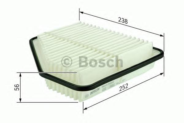 F026400188 Фильтр воздушный TOYOTA RAV4/CAMRY 2.0-3.5 06-