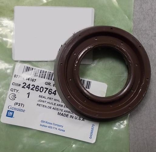 24260764 Сальник привода АКПП (Lh) CRUZE
