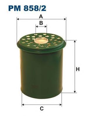 PM8582 Фильтр топливный RENAULT CLIO/MEGANE/SAFRANE