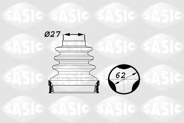1900014 Пыльник ШРУСа CITROEN C2/C3 02- внутр. прав.