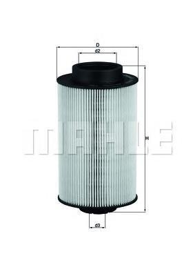 KX1911D Фильтр топливный MAN