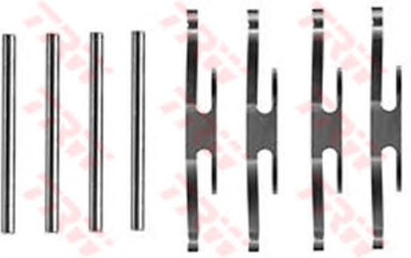 PFK71 Пружинки тормозных колодок OPEL:MANTA B (58_, 59_) 09.75-08.88,MANTA B CC (53_, 55_) 09.75-08.88