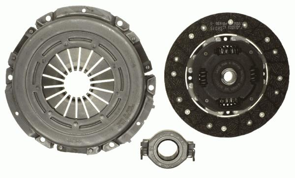 3000162001 Сцепление к-т VW TRANSPORTER III 1.6D-1.7D 81-92