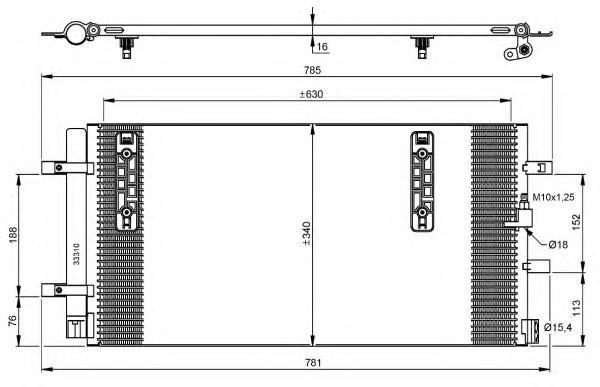 35916 Конденсатор VAG A4, A5, Q5 07-