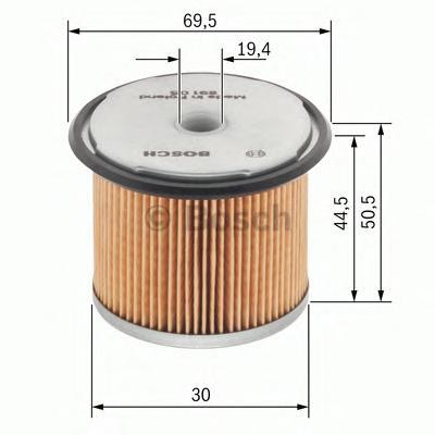 1457429657 Фильтр топливный RENAULT 1.9 dTi