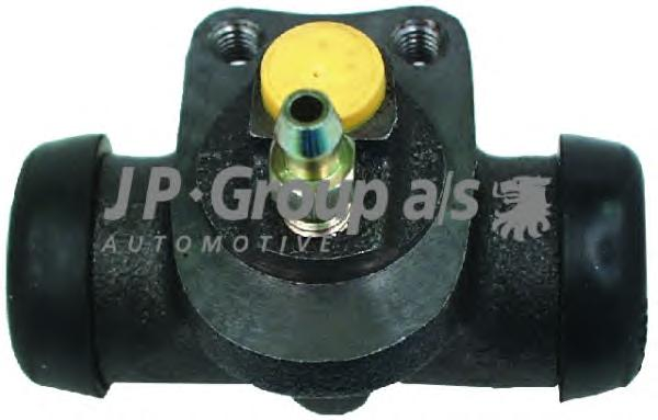 1261300100 Цилиндр тормозной задний (19.05 мм) / Opel Kadett-E