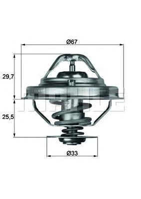 TX3880D Термостат BMW E34/E36/E39 2.5TD 91-03